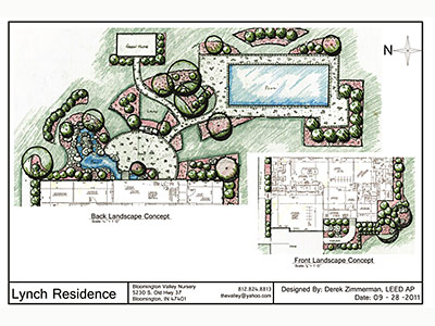 Landscape Design Bloomington, IN